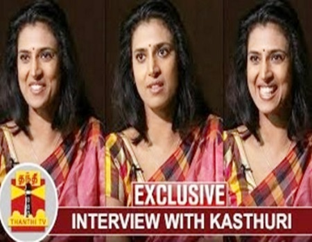 EXCLUSIVE   Find fuss about me – Actress Kasthuri's Open Challenge   Thanthi Tv