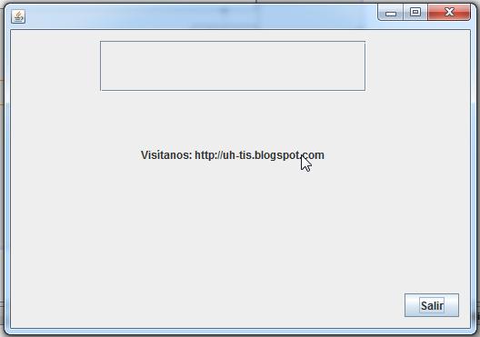 jlabel antes de modificar la propiedad cursor