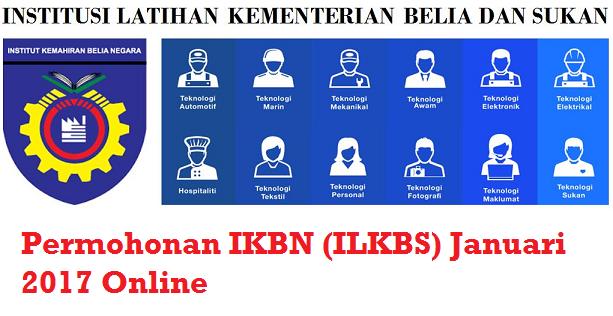 Permohonan IKBN 2017 Online