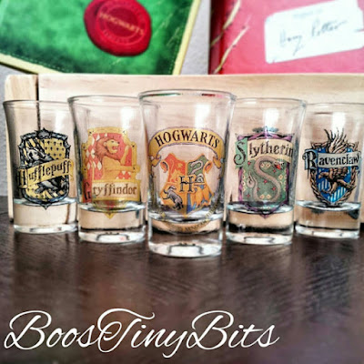 Harry Potter Shot glasses on Etsy