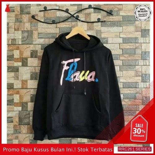 RRC261S53 Sweater Terbaru Hodie Flaua Rainbow Wanita Terbaru BMGShop