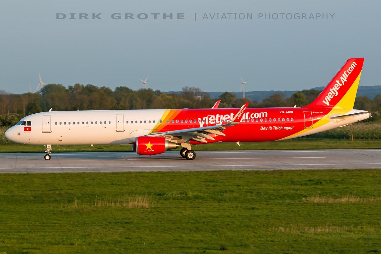 Airbus Hamburg Finkenwerder News: A321-211SL. VietJet Air. VN-A631 (MSN 7675)