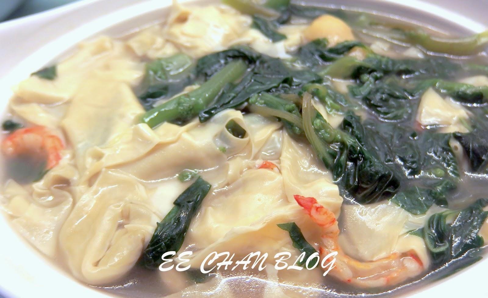 蝦乾腐竹莧菜湯