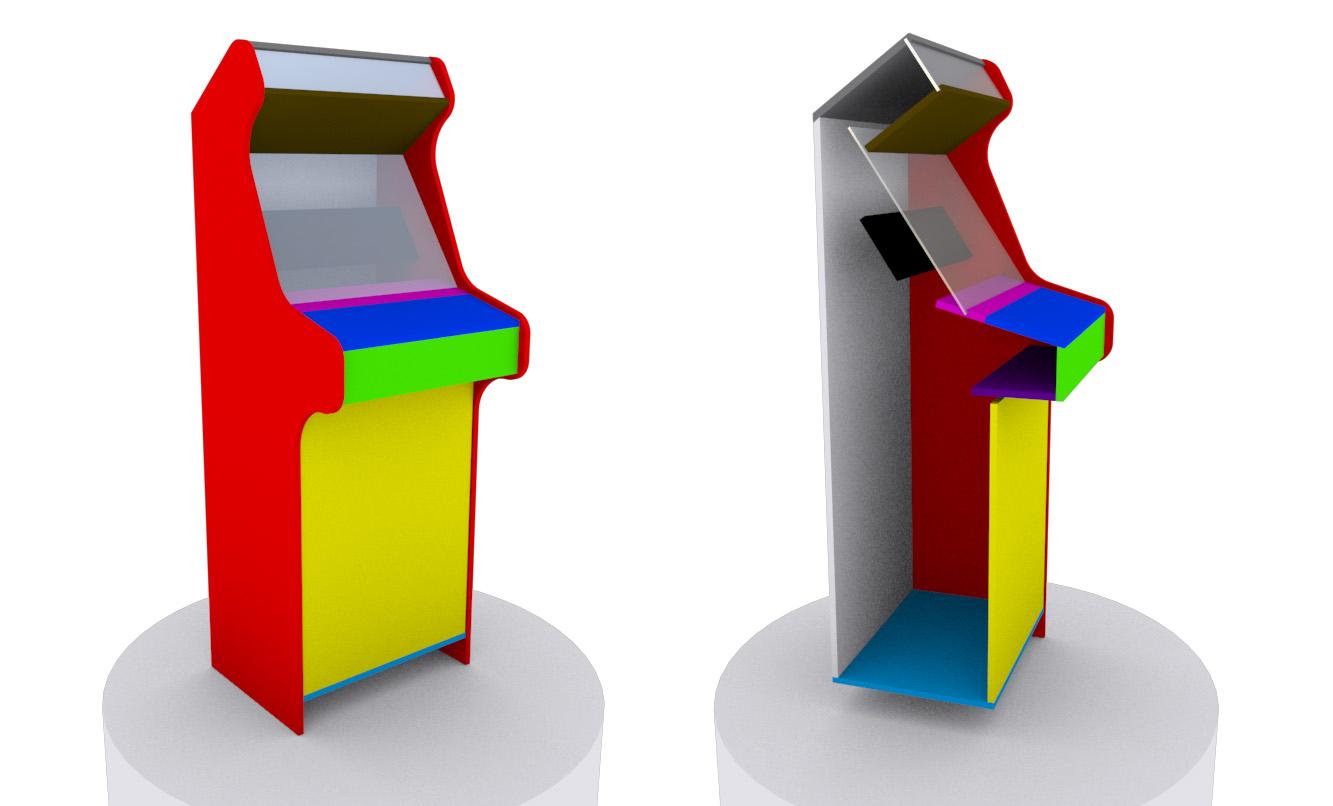 Crea Tu Arcade Planos Para Construir Un Mueble Arcade