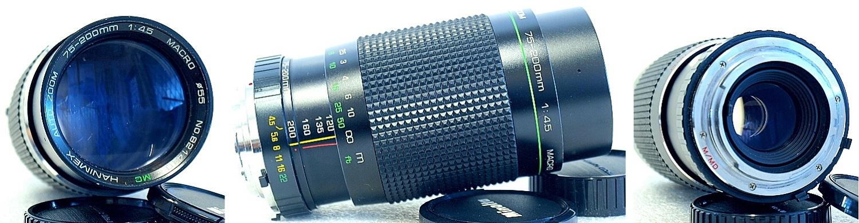 Hanimex MC Macro 75-200mm 1:4.5 Auto Zoom (MD Mount) #410