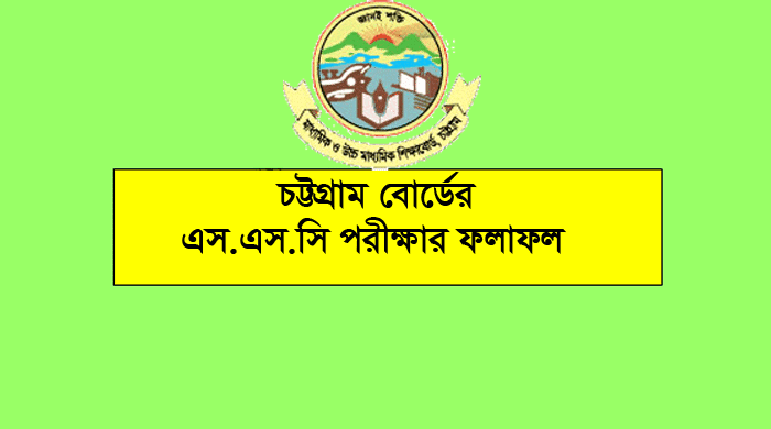 SSC Result 2019 Chittagong Board