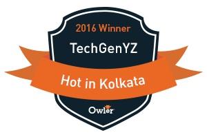 TechGenYZ Named Owler 'HOT in 2016' Winner in Kolkata