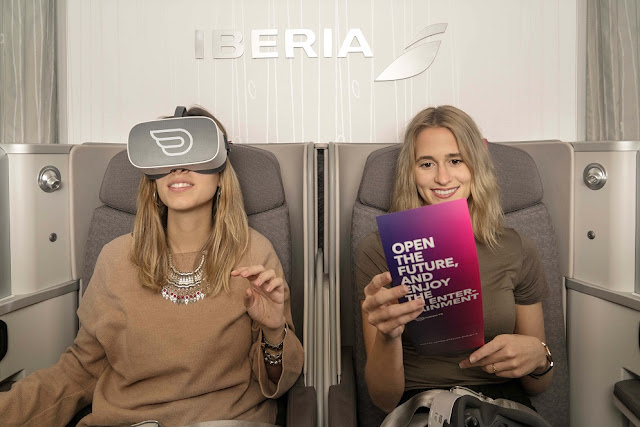 Spanish Carrier Iberia Launches Virtual Reality Entertainment