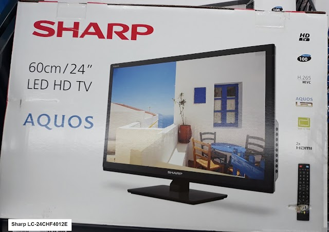 Sharp LC-24CHF4012E 24-inch TV - my quick product review