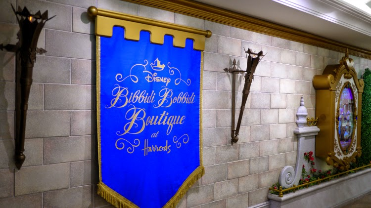 Disney Bibbidi Bobbidi Boutique at Harrods