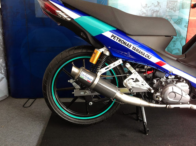 Yamaha Lagenda 115Z Fuel Injection - Racing Modified 2014