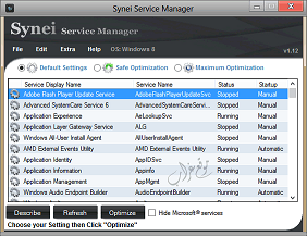 برنامج تسريع الويندوز, تحميل برنامج Synei Service Manager مجانا, تنزيل برنامج Synei Service Manager لاصلاح مشاكل الويندوز.