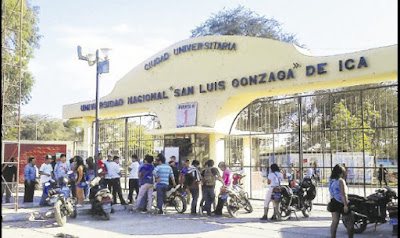 En la Universidad Nacional San Luis Gonzaga de Ica se resisten a elegir rector y peligra año académico