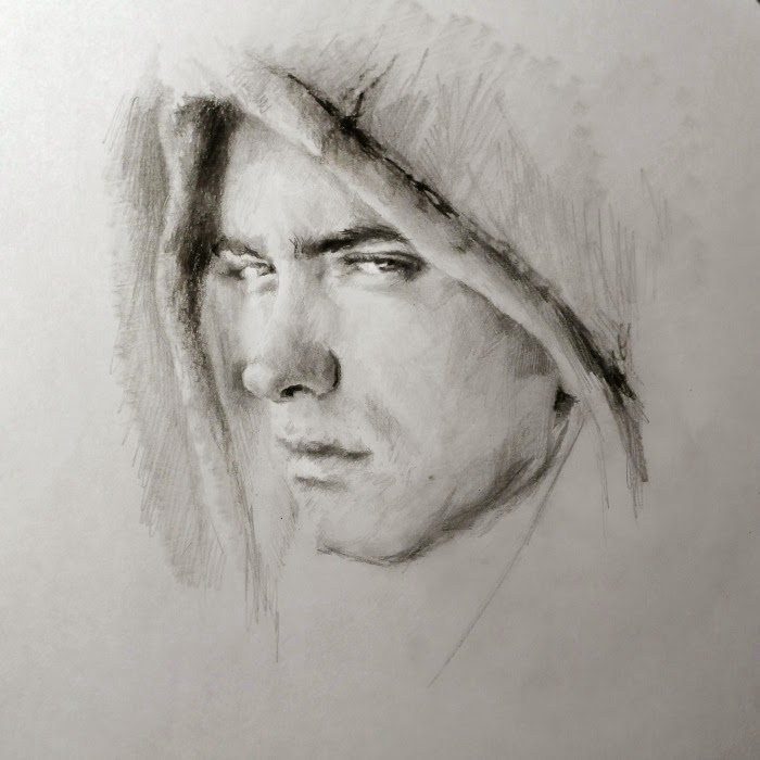 Рисунки карандашом. Алла Дзюрич