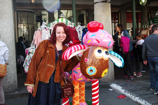 aliciasivert, Alicia Sivertsson, London, england, semester, vacation, holiday, shaun the sheep, fåret shaun, covent garden