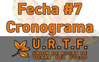 [URTF] Horarios: Primera División y Juveniles - 01/04