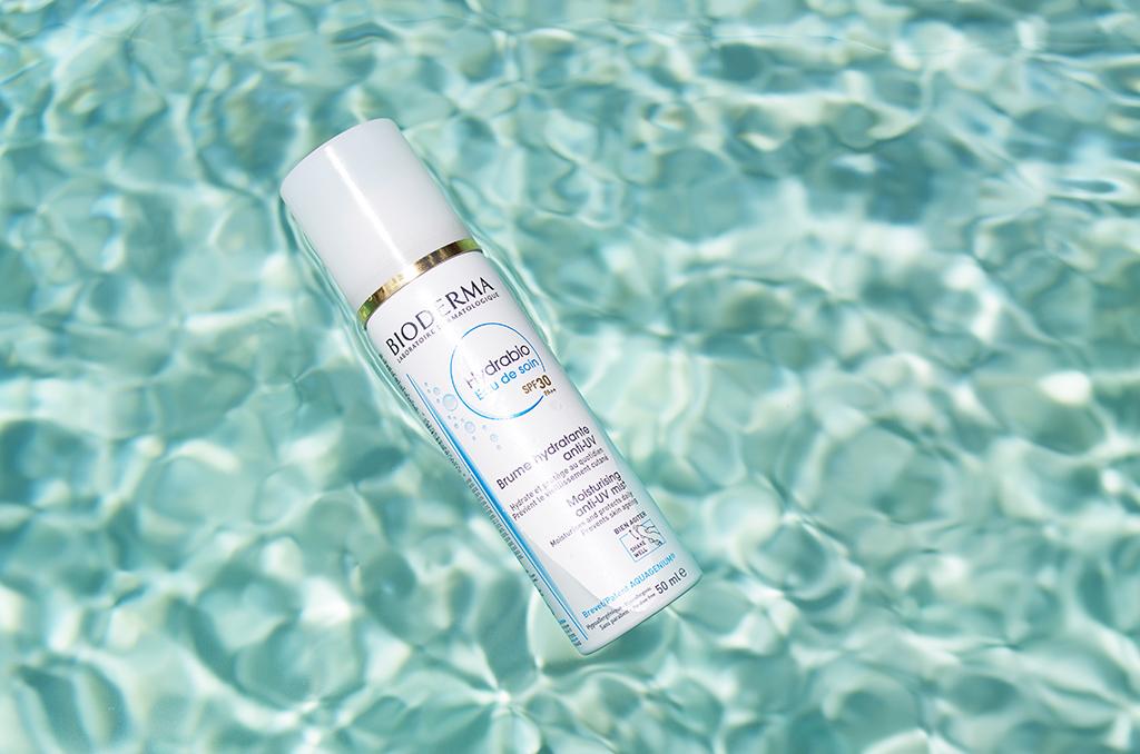 Elizabeth l Beauty review Bioderma Hydrabio Eau de soin SPF30 brume hydratante anti-uv l THEDEETSONE l http://thedeetsone.blogspot.fr