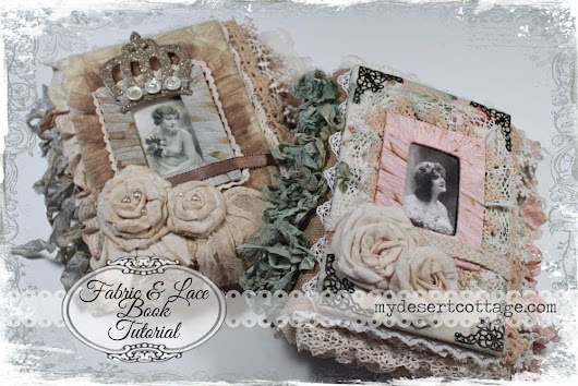 Fabric & Lace Book PDF Tutorial now available!