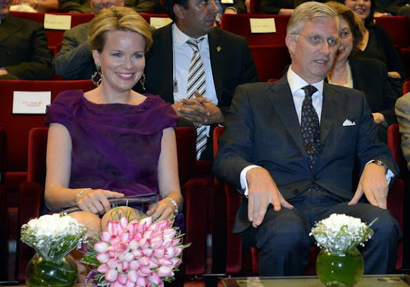 Crown Prince Philippe and Crown Princess Mathilde attended a concert in İstanbul. Prince Philippe, in his part, said that this was their first day in Turkey