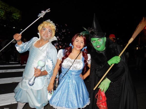 WEHO Halloween Wizard of Oz costumes