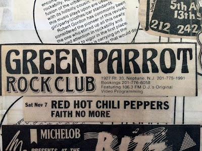 The Green Parrot rock club in Neptune, New Jersey