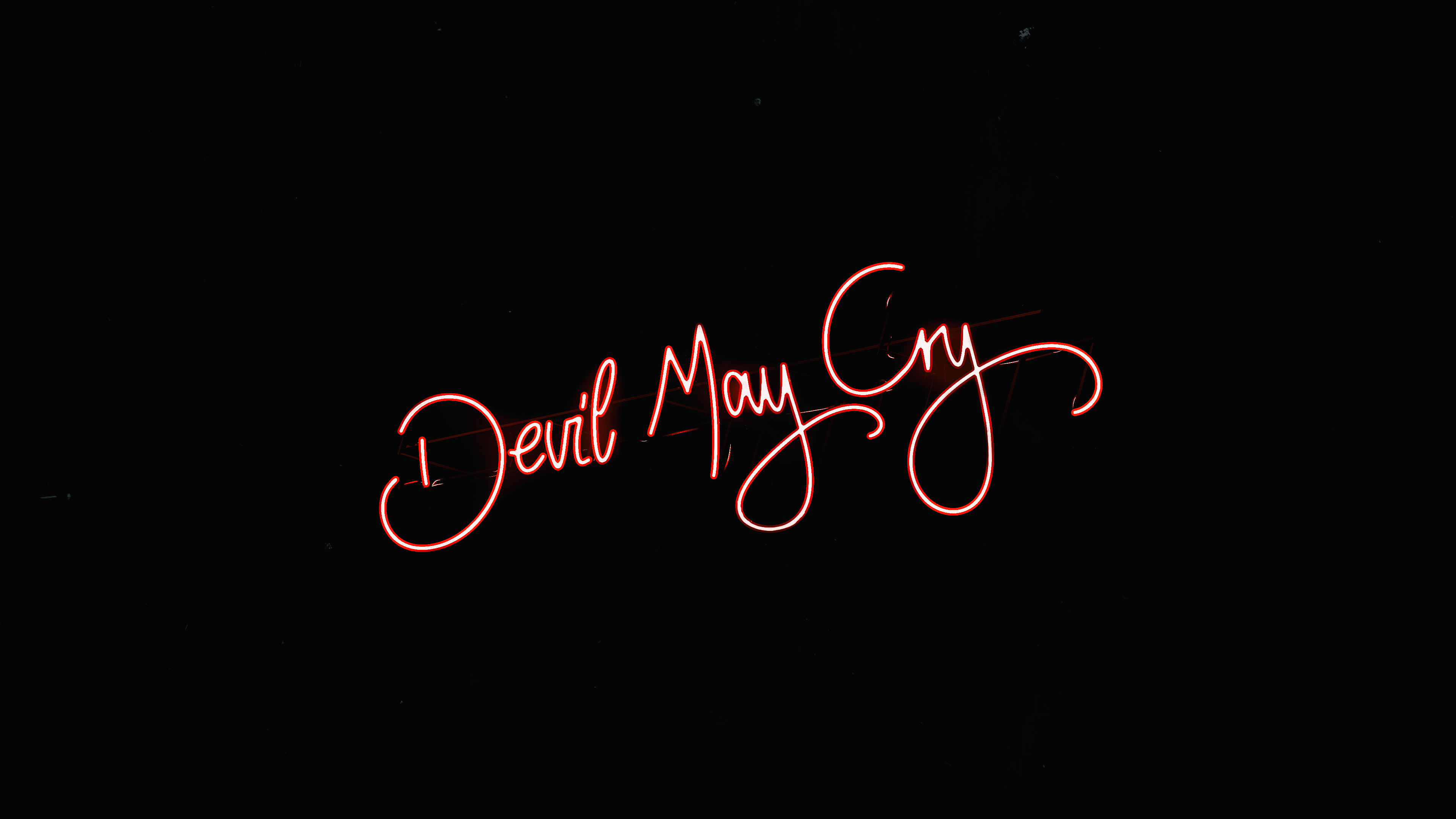 Devil May Cry 5 Logo 4k Wallpaper 91
