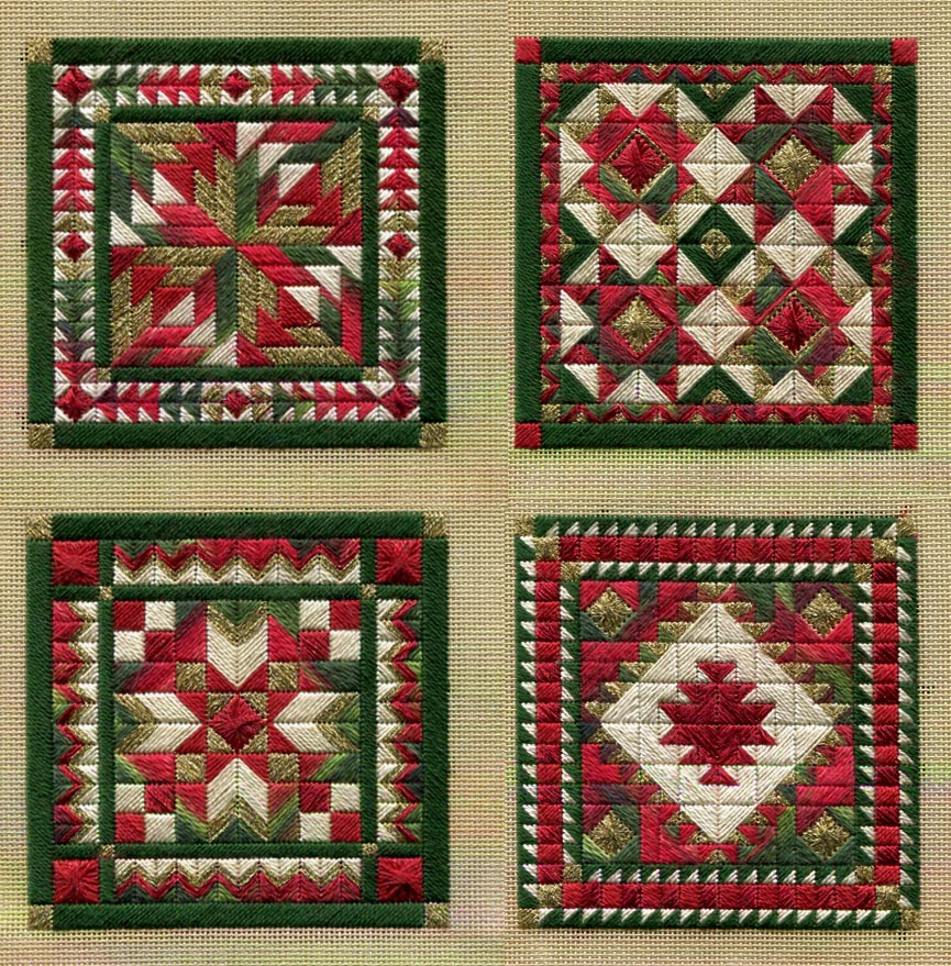 Two-Handed Stitcher: New Holiday Ornaments!