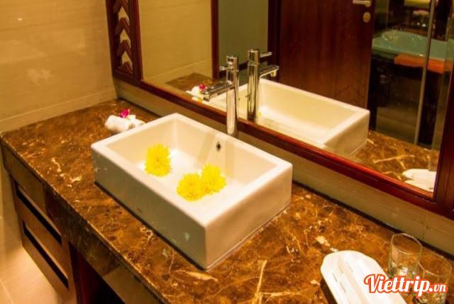 Phòng tắm thiết kế rất sáng tạo - vietsovpetro ho tram