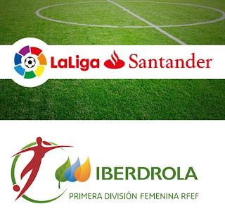 FÚTBOL - Liga española masculina y femenina 2016/2017 en directo