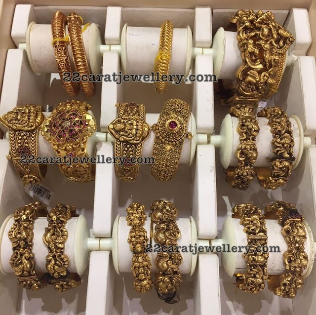 Dull Finish Nakshi Bangles