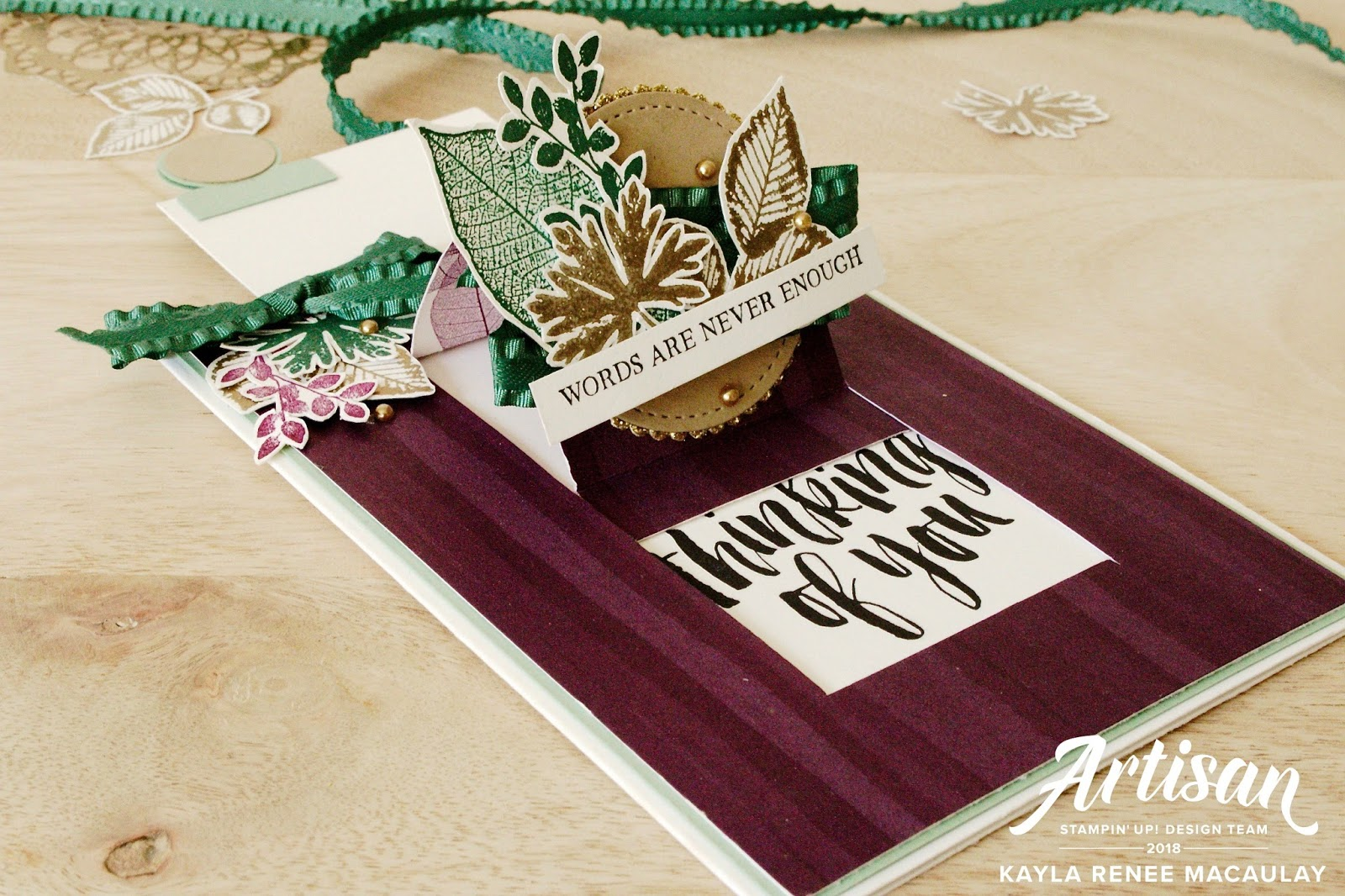 Love, Kayla: Stampin' Sneak Peek ~ Display Stamper Samples
