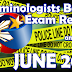 CRIMINOLOGISTS Board Exam Result June 2017