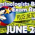 CRIMINOLOGISTS Board Exam Result June 2017