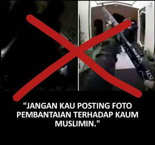 Hukum Menyebarkan Foto / Video Pembantaian Kaum Muslimin