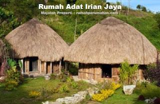 Desain Bentuk Rumah Adat Irian Jaya dan Penjelasannya, Rumah Adat Papua