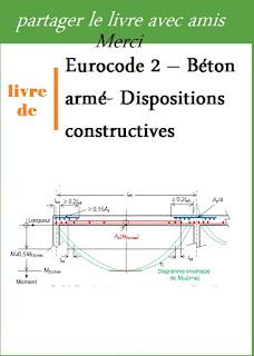 Eurocode 2 – Béton armé- Dispositions constructives pdf