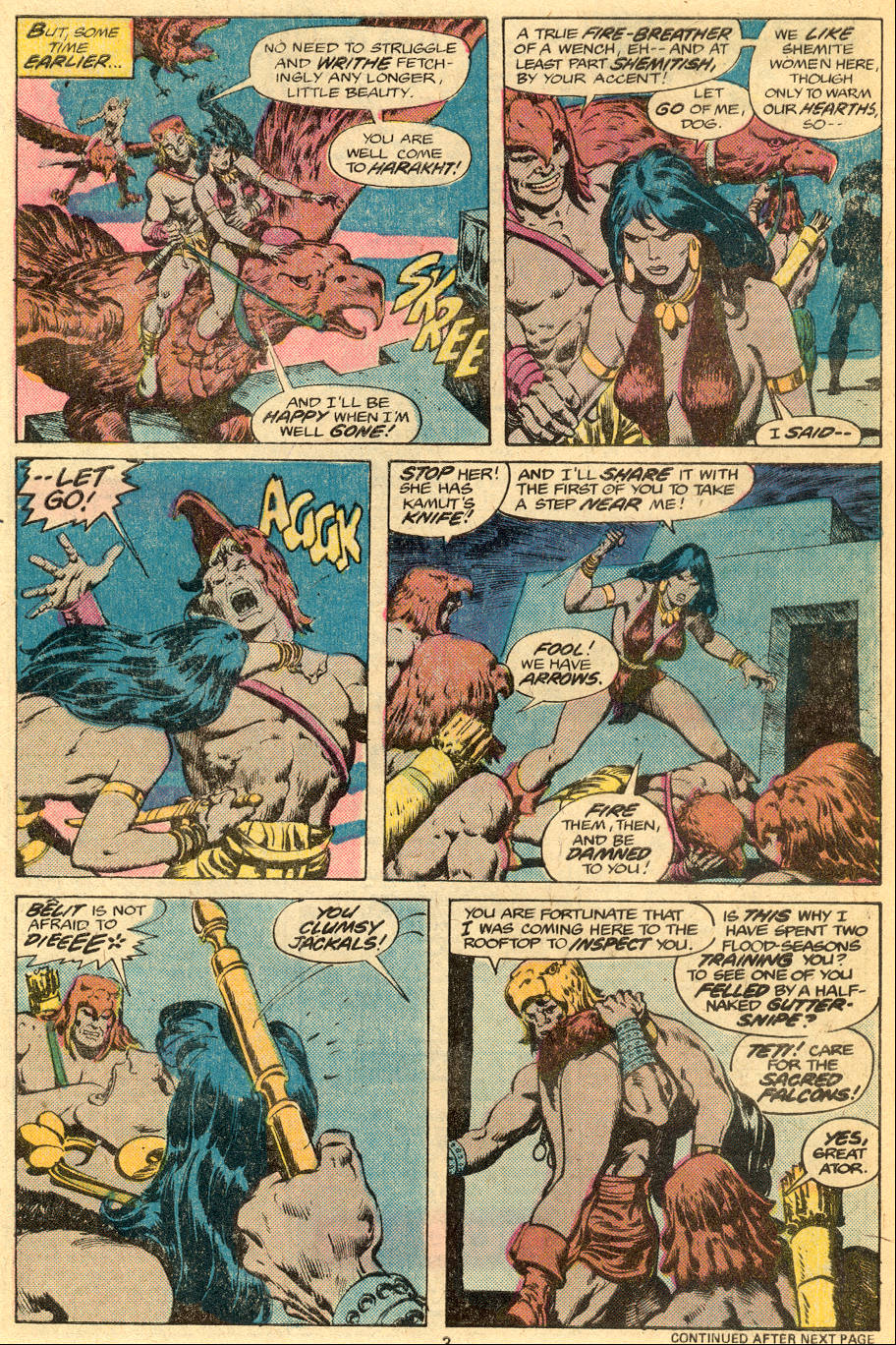 Conan the Barbarian (1970) Issue #76 #88 - English 4