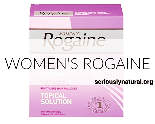 Click here to buy Women's Rogaine Topical solution for aiding hair growth.