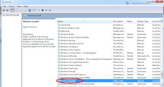 "Cara Mengatasi ""Windows Installer Service could not be Accessed"" Dengan Mudah melalui services"