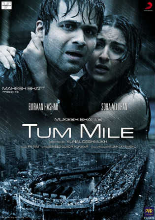 Tum Mile 2009 DVDRip 350Mb Full Hindi Movie Download 480p Watch Online Free bolly4u