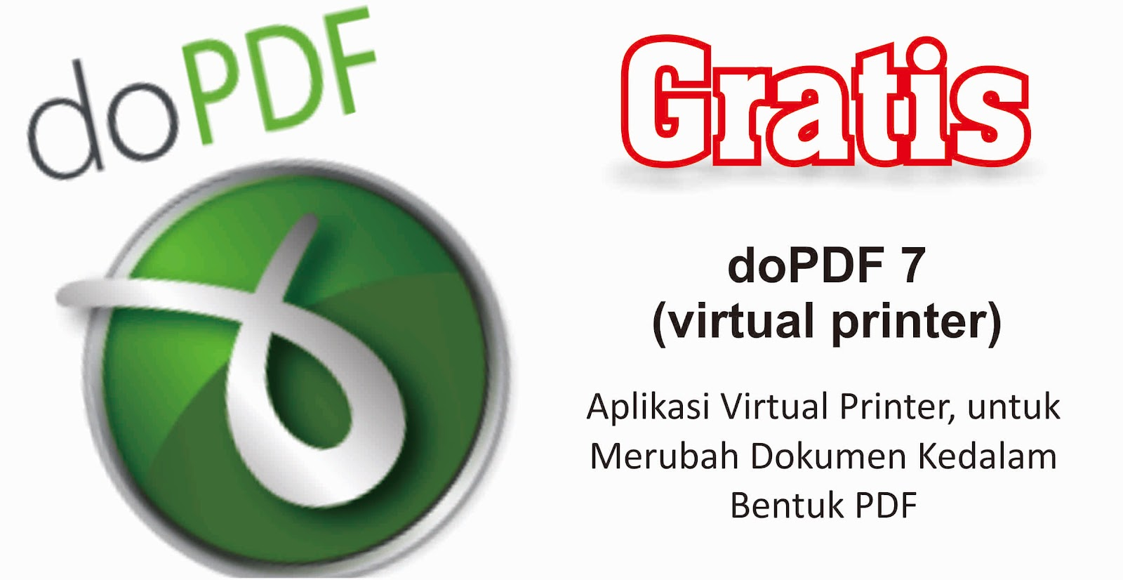 Download Gratis doPDF (virtual printer) - Cecep HM