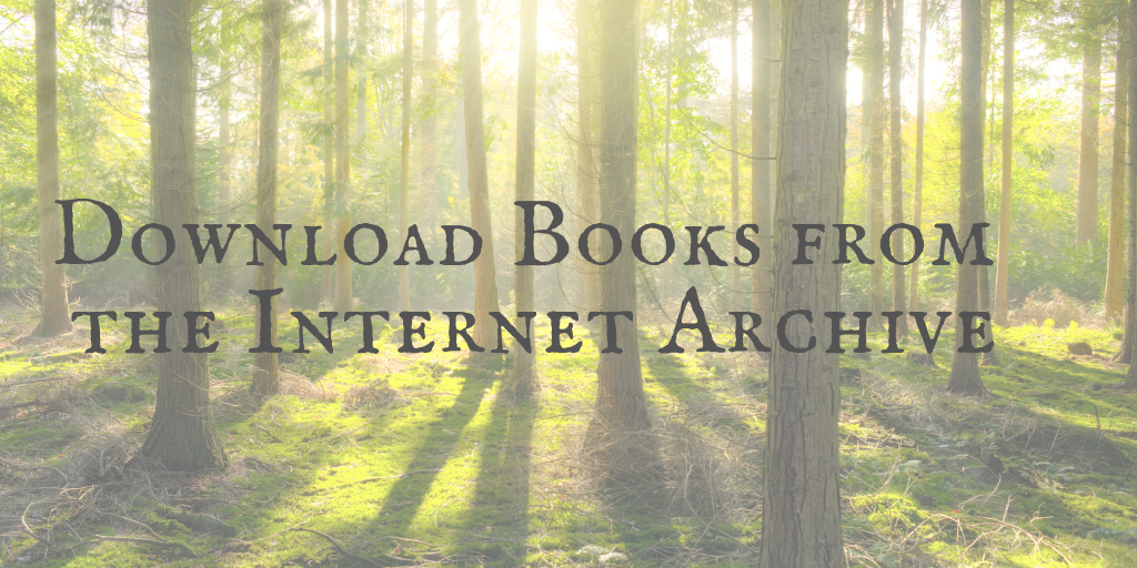 How to Find, Download, and Borrow Books from the Internet