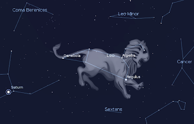 Zodia şi constelaţia Leului