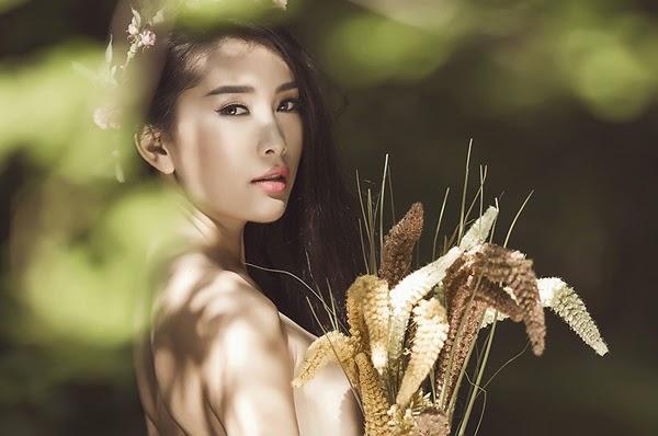 Lan Huong sexy in underwear, Lan Huong supermodel, Lan Huong model Vietnam
