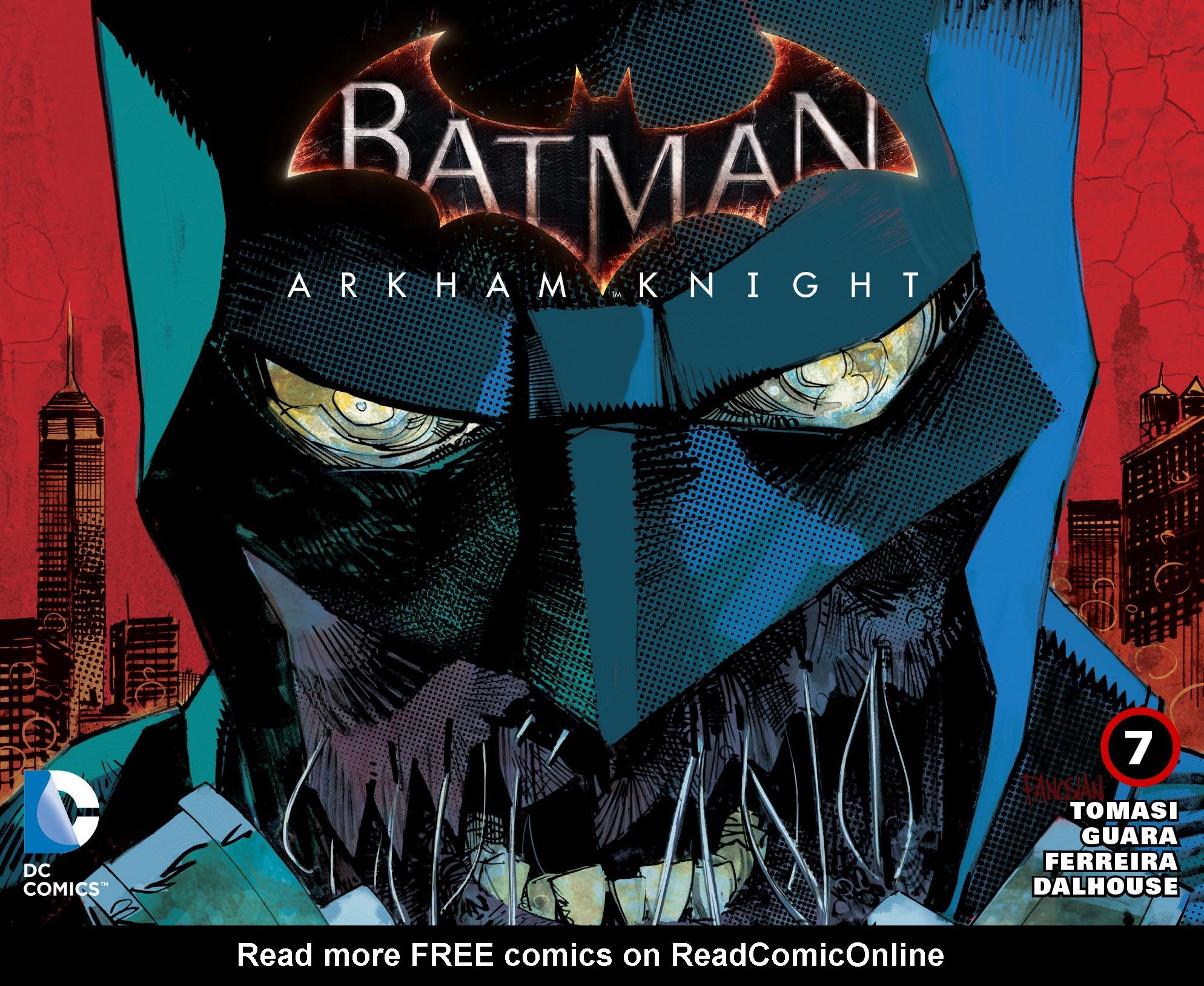 Batman: Arkham Knight [I] 7 Page 1