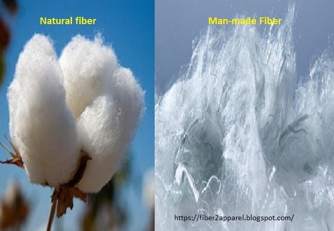 Textile fiber difference
