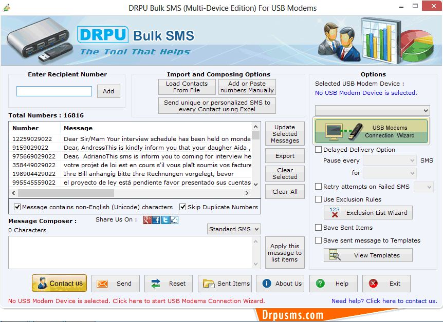 smscaster e-marketer gsm standard 3.7 unlock key
