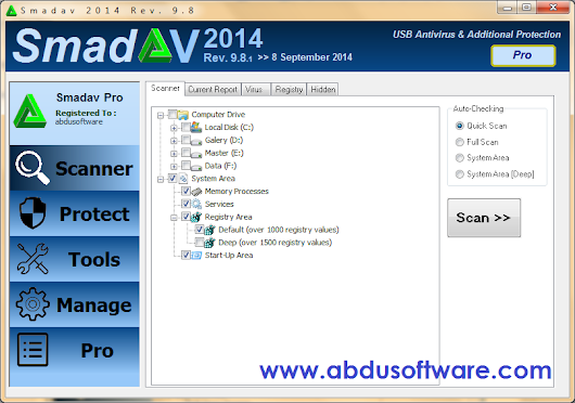Abdu Software: Download SmadAV Pro Terbaru 2014 Rev. 9.8 Full Version