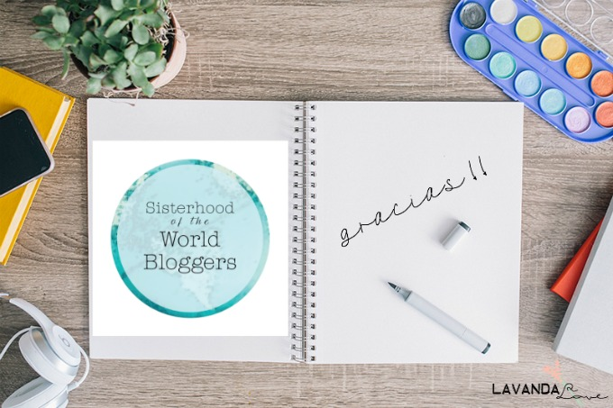 cual es el logo de sisterhood of the world blogger award