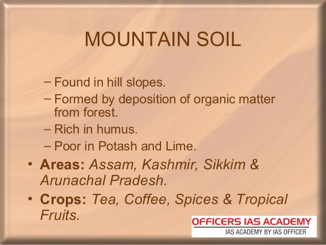 Ias preparation simplified like never before major soil for Information about different types of soil